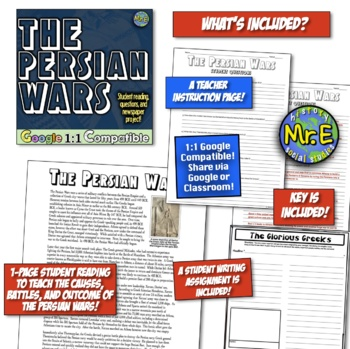 Persian Wars: Student Journalists Uncover the History Behind the Persian Wars!