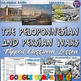 The Persian and Peloponnesian Wars Lesson for Ancient Greece