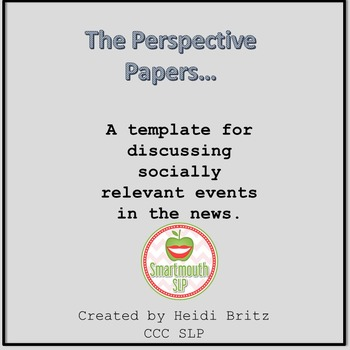 Social Skills Activities Perspective taking