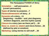 The Persuasive Power of Story: How suspending disbelief ca
