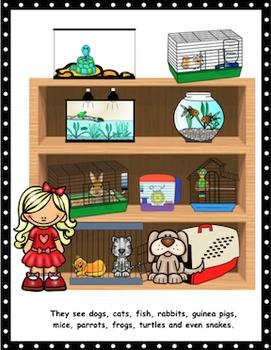 The Pet Store: A Violet & Norman Language Story