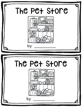 The Pet Store~ emergent reader
