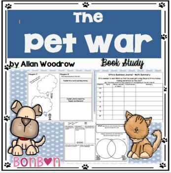 The Pet War by Allan Woodrow - Book Study