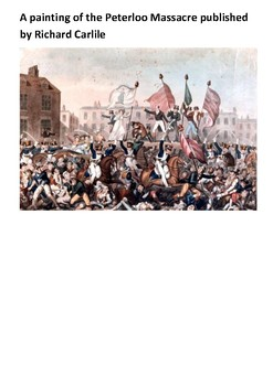 The Peterloo Massacre Handout