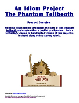 The Phantom Tollbooth - An Idiom Project
