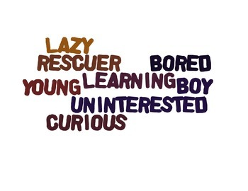 The Phantom Tollbooth Character Word Clouds