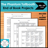The Phantom Tollbooth End of Book Final Projects