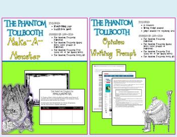 The Phantom Tollbooth Extension Activities Bundle