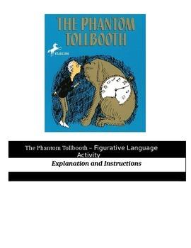 The Phantom Tollbooth - Figurative Language Activity
