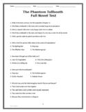 The Phantom Tollbooth Full Novel Test