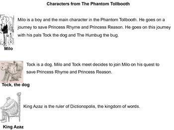 The Phantom Tollbooth - Modified Text