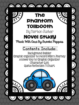 The Phantom Tollbooth Novel Study