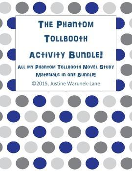 The Phantom Tollbooth Novel Study - BUNDLE!