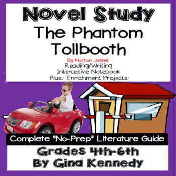 The Phantom Tollbooth Novel Study & Enrichment Project Menu