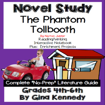 The Phantom Tollbooth Novel Study & Enrichment Project Menu