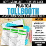 The Phantom Tollbooth Novel Study Unit