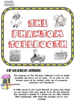 The Phantom Tollbooth Novel Unit