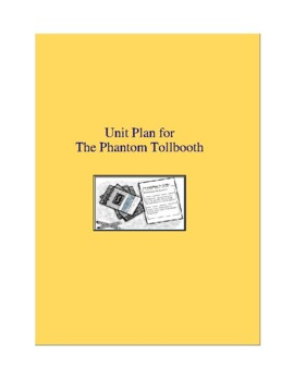 The Phantom Tollbooth Complete Literature and Grammar Unit