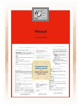 Weasel Complete Literature and Grammar Unit