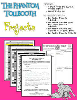 The Phantom Tollbooth Pick-A-Project Kit