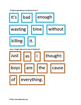 The Phantom Tollbooth: Quote Puzzles