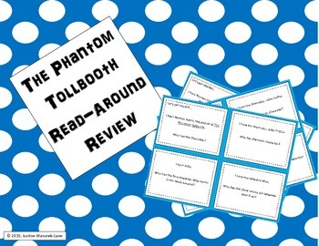 The Phantom Tollbooth Read-Around Review (I Have, Who Has)