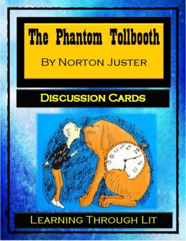 THE PHANTOM TOLLBOOTH by Norton Juster - Discussion Cards