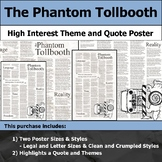 The Phantom Tollbooth - Visual Theme and Quote Poster for Bulletin Boards
