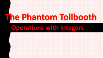 The Phantom Tollbooth and Operations with Integers