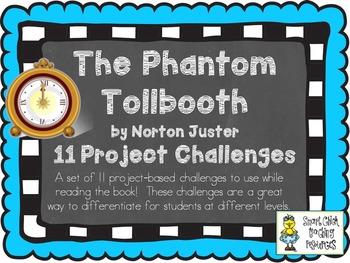 The Phantom Tollbooth, by N. Juster, Project Challenges to Extend Reading