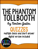 The Phantom Tollbooth by Norton Juster:  10 Quizzes