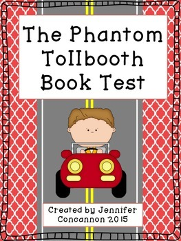 The Phantom Tollbooth by Norton Juster Book Test