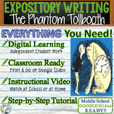 The Phantom Tollbooth Norton Juster  Text Dependent Analysis Expository Writing
