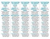 The Phantom Tollbooth ed. of Bookmarks Plus: Fun Freebie/Handy Reading Aid