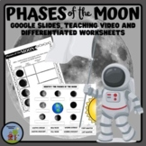 The Phases of the Moon Worksheets