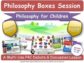 The Philosophy of Mathematics (P4C - Philosophy For Children) [Lesson] (Boxes)