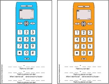 The Phone Number Song: The Quick and Easy Way to Teach Kids Their Phone Number!