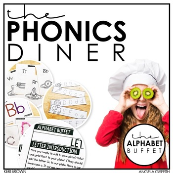 Letter of the Day Introduction: The Phonics Diner Alphabet Buffet