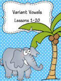 The Phonics Mastery Program- Variant Vowels Assessment PowerPoint