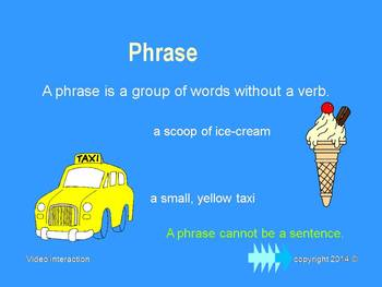 The Phrase - the grammar series