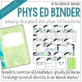 The Physical Education Teacher Binder   First Edition
