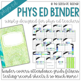 The Physical Education Teacher Binder | First Edition