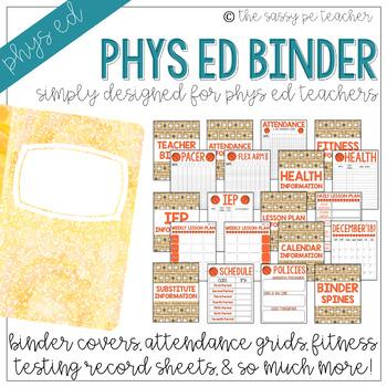 The Physical Education Teacher Binder | Basketball Edition