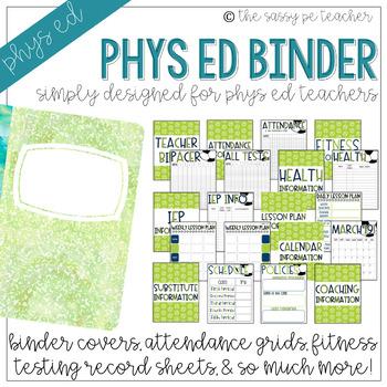 The Physical Education Teacher Binder | Soccer Edition