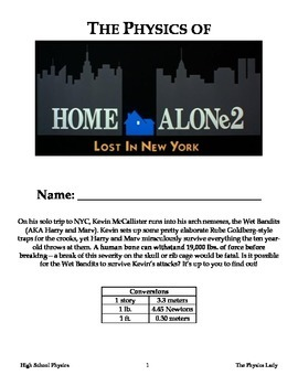 "The Physics of ""Home Alone 2: Lost in New York"""