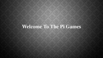 The Pi Games Math Challenge