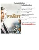 The Pianist Questions (first hour of film) (no link!)