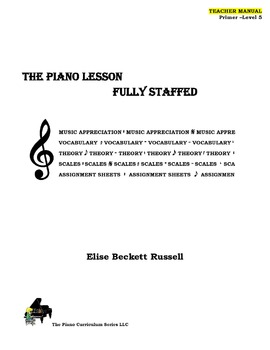 The Piano Lesson Teacher Manual