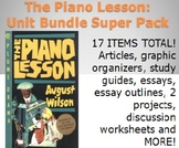 The Piano Lesson Unit Materials Super Pack - 17 activities