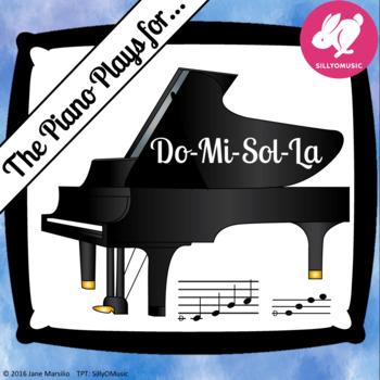 Do-Mi-Sol-La Solfege PowerPoint Game (solfa, sight-singing)